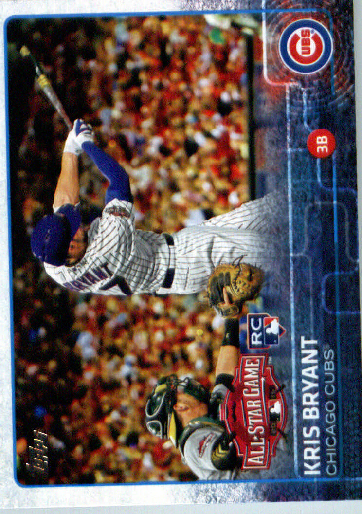 2015 Topps Update #US242 Kris Bryant RC