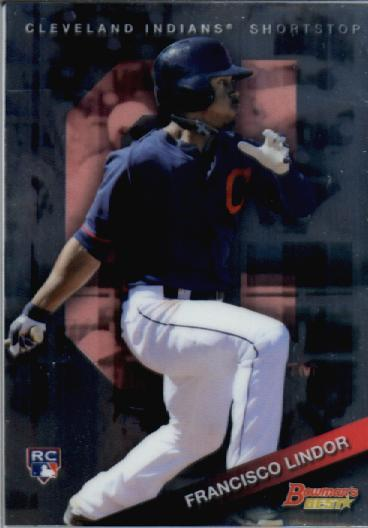 2015 Bowman's Best #3 Francisco Lindor RC