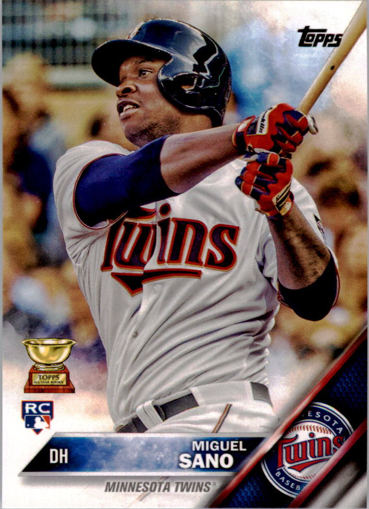 2016 Topps #78A Miguel Sano RC
