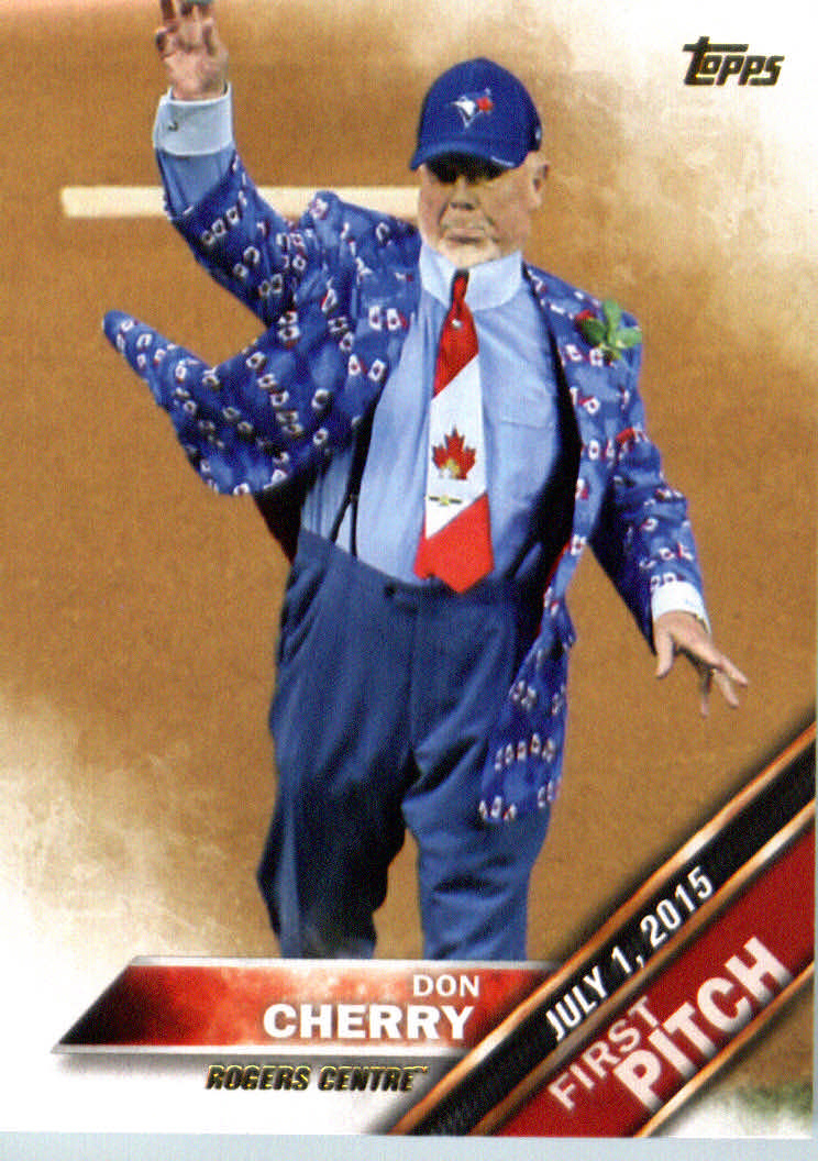 2016 Topps First Pitch #FP3 Don Cherry