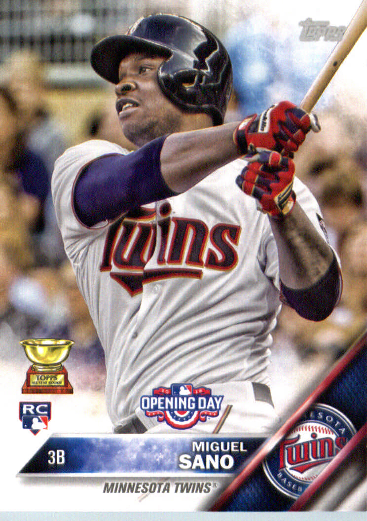 2016 Topps Opening Day #OD52A Miguel Sano RC