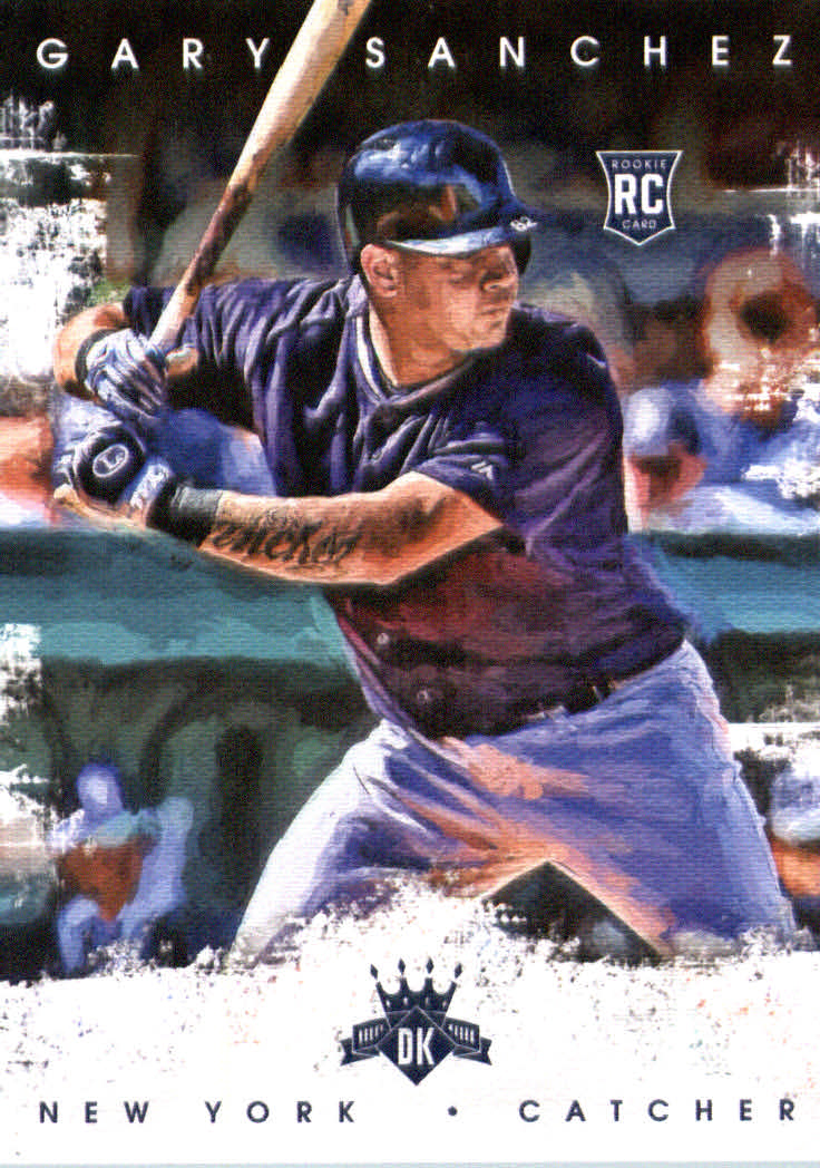 2016 Diamond Kings #171 Gary Sanchez RC