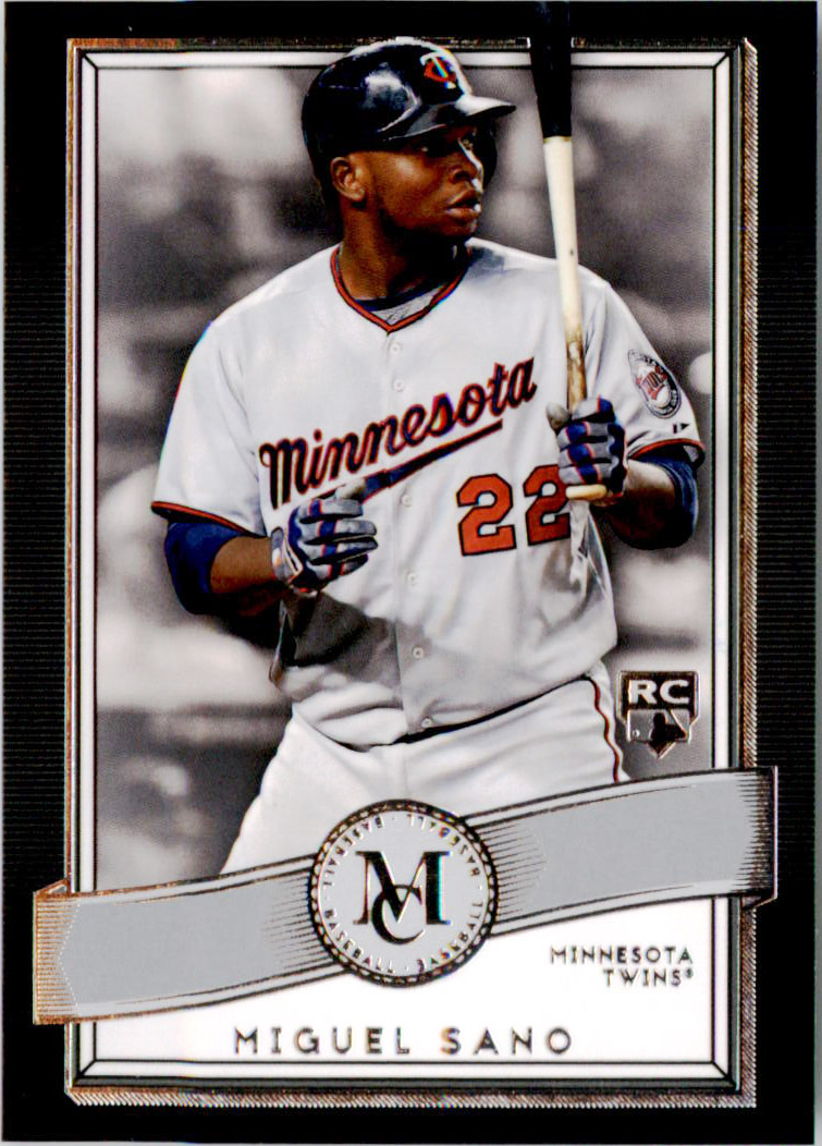 2016 Topps Museum Collection #64 Miguel Sano RC