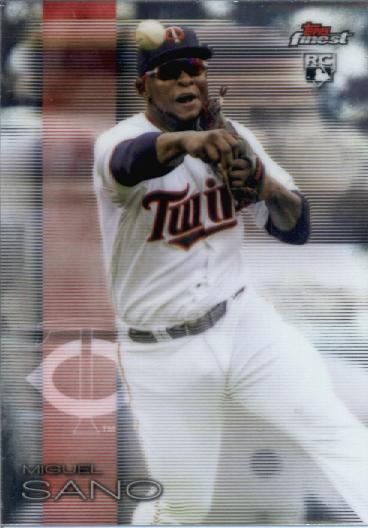 2016 Finest #69 Miguel Sano RC
