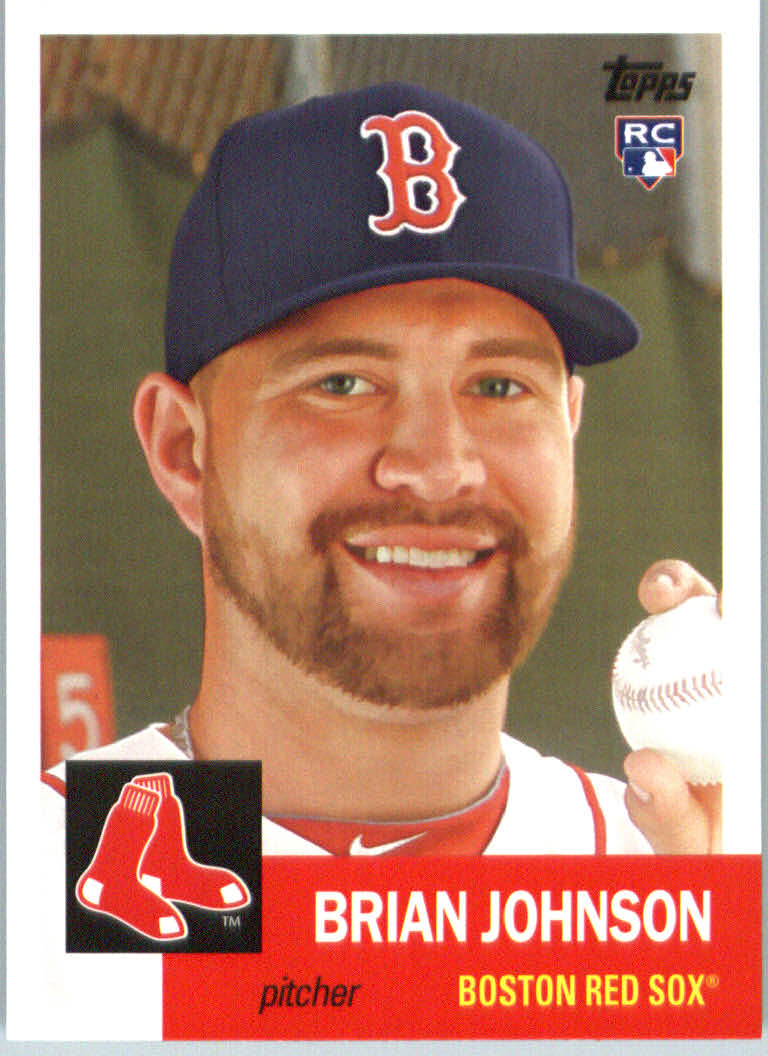 2016 Topps Archives #56 Brian Johnson RC