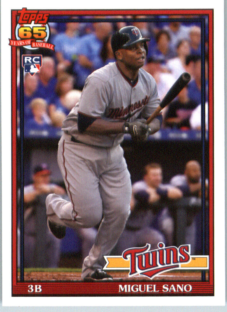2016 Topps Archives #237 Miguel Sano RC