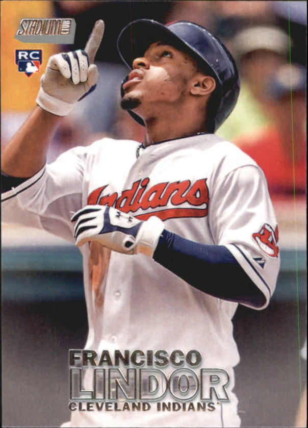 2016 Stadium Club #42 Francisco Lindor RC