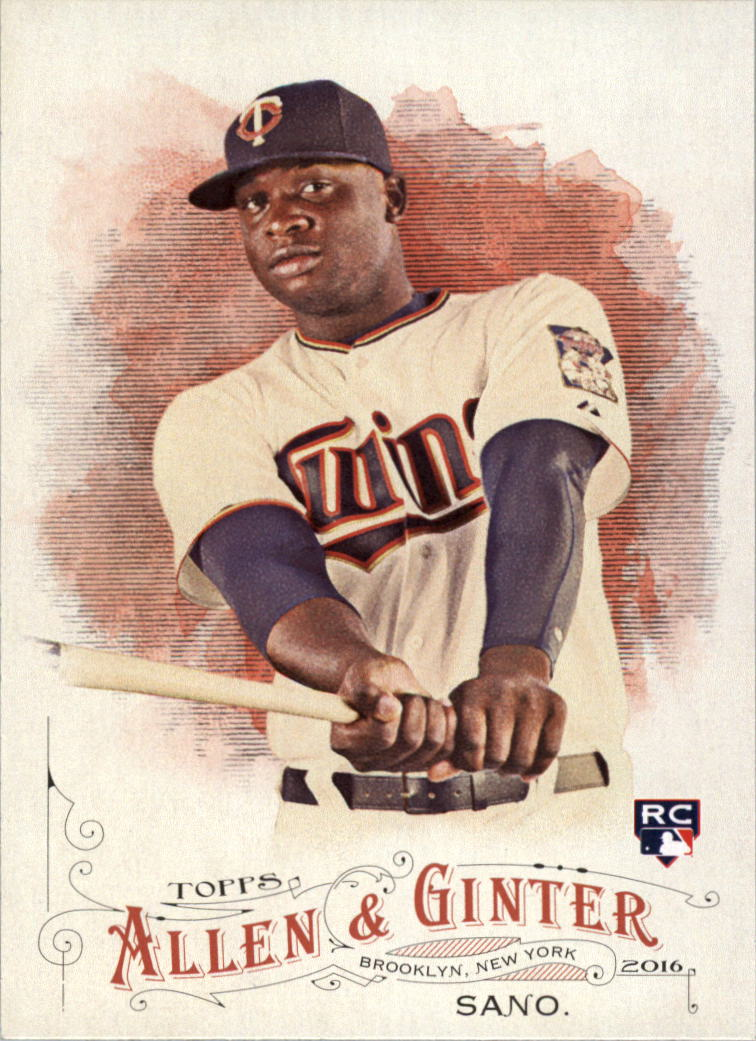2016 Topps Allen and Ginter #66 Miguel Sano RC