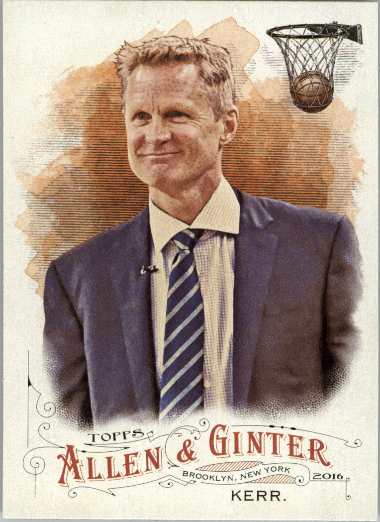 2016 Topps Allen and Ginter #160 Steve Kerr
