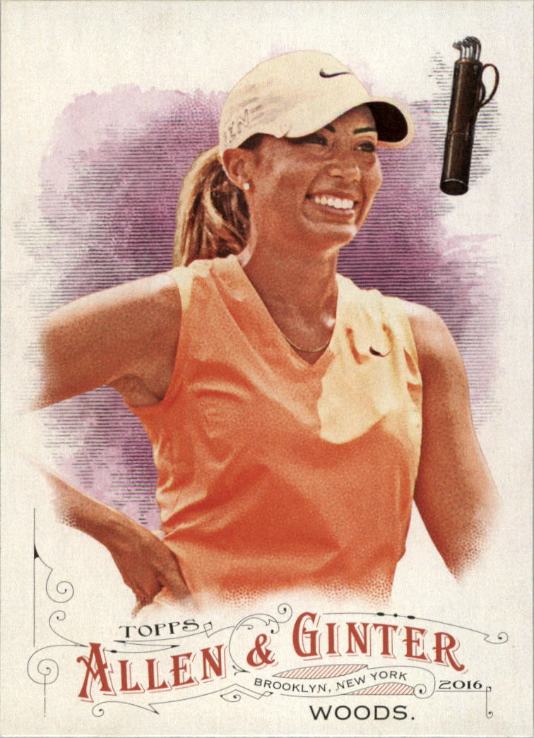 2016 Topps Allen and Ginter #235 Cheyenne Woods