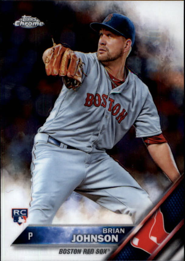 2016 Topps Chrome #137 Brian Johnson RC
