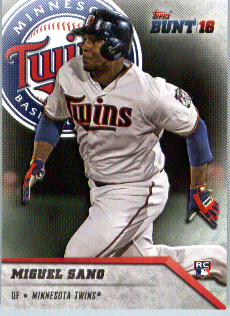 2016 Topps Bunt #96 Miguel Sano RC