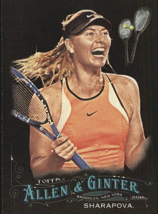 2016 Topps Allen and Ginter X Mini #212 Maria Sharapova