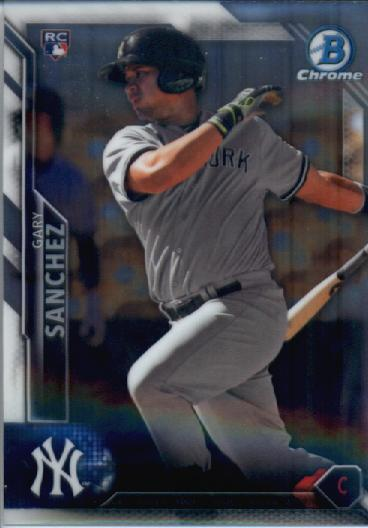 2016 Bowman Chrome #90 Gary Sanchez RC