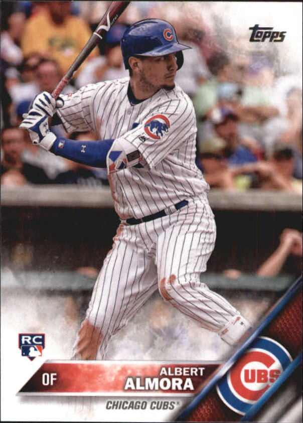 2016 Topps Update #US178A Albert Almora RC