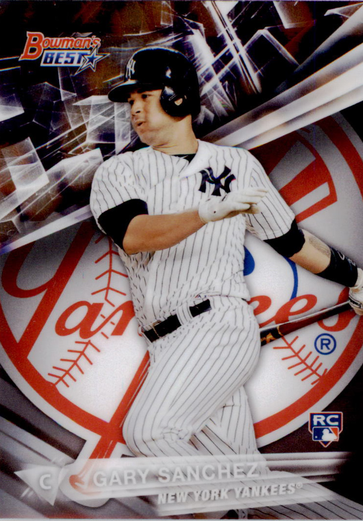 2016 Bowman's Best #3 Gary Sanchez RC