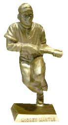 1956 Big League Statues Baseball #11 Mickey Mantle