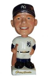 1961-62 Bobbin Heads Baseball Players #2 Mickey Mantle