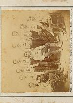 1868-71 Peck and Snyder Trade Cards #2 Atlantics/1868