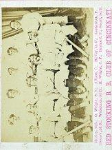 1869 Red Stockings Peck and Snyder #1 Red Stockings Team