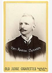 1887-89 Old Judge Cabinets N173 #2 Cap Anson