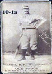 1887-90 Old Judge N172 #11 Bill Annis
