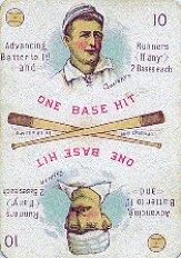 1889 Edgerton R. Williams Game #5 Roger Connor/Charles Comiskey