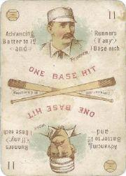1889 Edgerton R. Williams Game #17 Fred Pfeffer/Jimmy Wolf