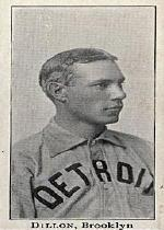 1903-04 Breisch-Williams E107 #36 Pop Dillon Brooklyn