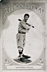 1909 Atlanta Crackers Postcard #1 Dick Bayless