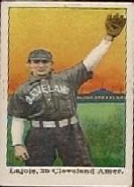1910 E102 Set of 25 #14 Nap Lajoie