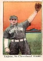 1909 E92-1 Dockman and Sons #21 Nap Lajoie