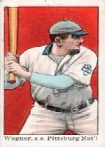 1909 E92-1 Dockman and Sons #37 Honus Wagner Batting