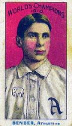 1911 A's Fireside T208 #3 Chief Bender