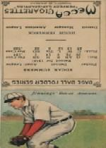 1911 Mecca Double Folders T201 #43 Ed Summers/Hugh Jennings