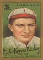 1911 T205 Gold Border #105 Ed Konetchy