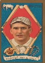 1911 T205 Gold Border #106 Harry Krause