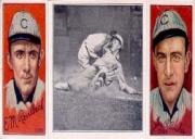 1912 Hassan Triple Folders T202 #63 Evers Makes a Safe Slide/Frank Chance/Johnny Evers front image