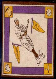 1914 B18 Blankets #6B Johnny Bassler/Yellow bases