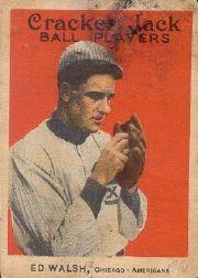 1914 Cracker Jack #36 Ed Walsh