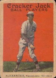 1914 Cracker Jack #37 Grover C. Alexander