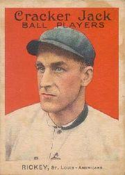 1914 Cracker Jack #133 Branch Rickey MG