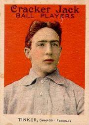 1915 Cracker Jack #3 Joe Tinker