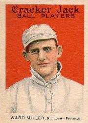 1915 Cracker Jack #5 Ward Miller