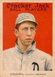 1915 Cracker Jack #7 Eddie Collins