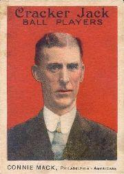 1915 Cracker Jack #12 Connie Mack MG