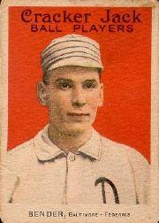 1915 Cracker Jack #19 Chief Bender