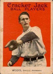 1915 Cracker Jack #22 Joe Wood