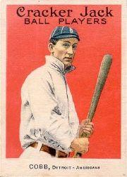 1915 Cracker Jack #30 Ty Cobb