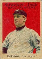 1915 Cracker Jack #69 John McGraw MG